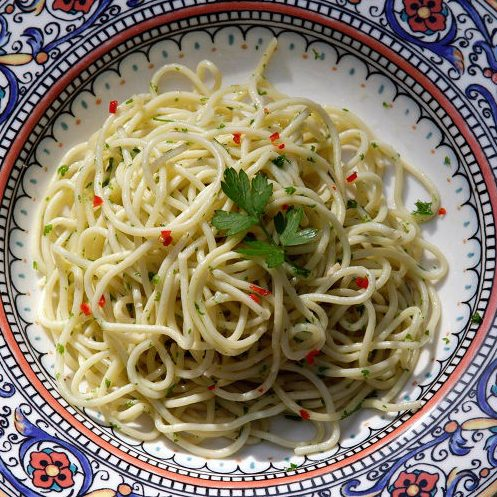 gluten free spaghetti from Beat the Wheat