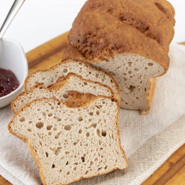 gluten-free bread loaf