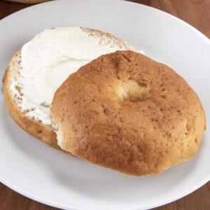 gluten-free plain bagel