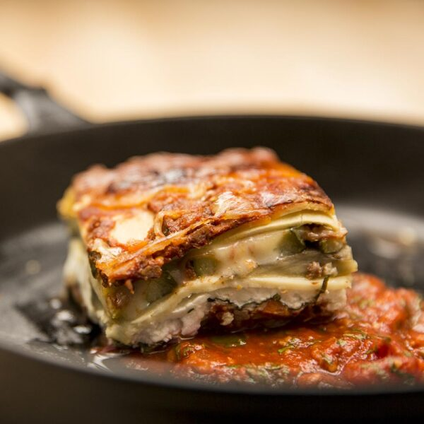 Gluten Free vegetable lasagna