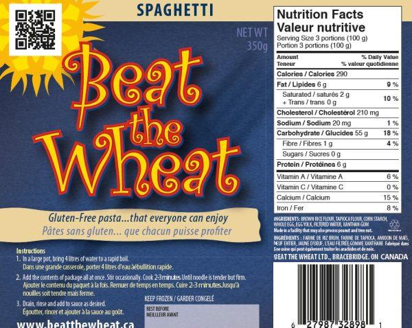 Spaghetti label
