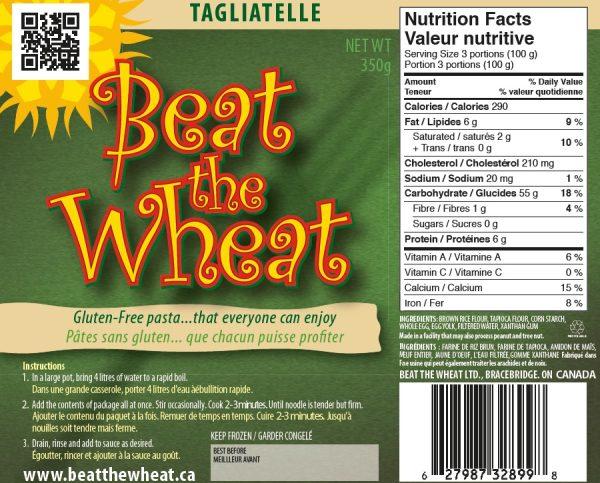 Tagliatelle label