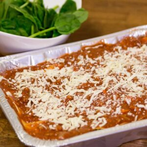 gluten free pasta bolognese from Beat the Wheat