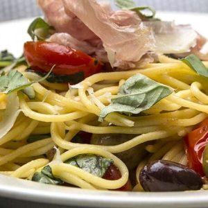 gluten-free spaghetti dinner