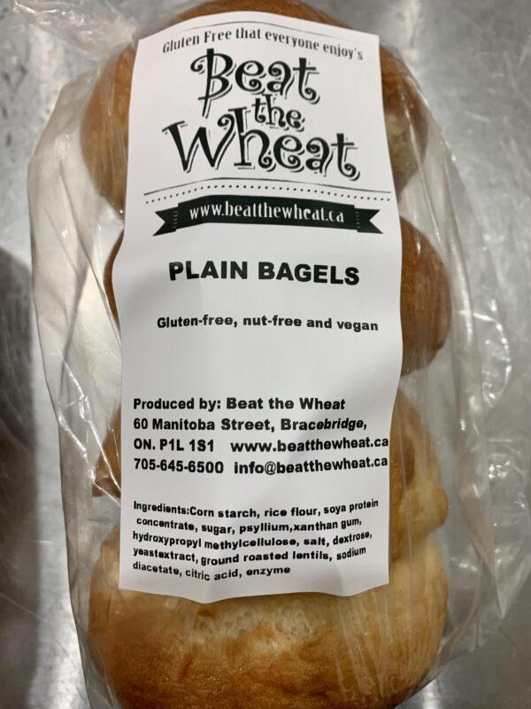 plain bagels 4 pk