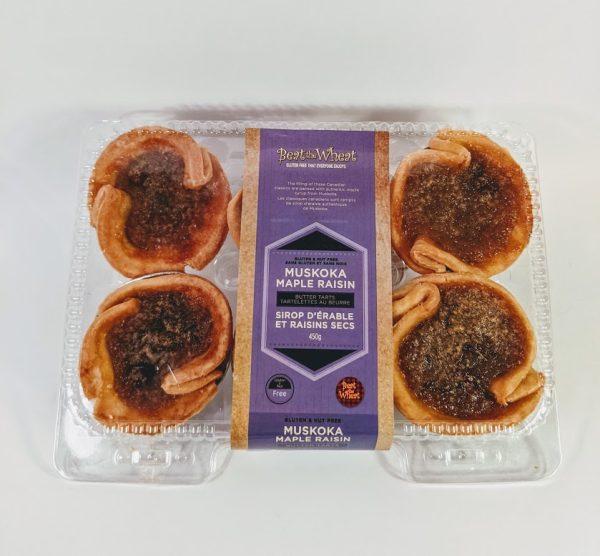 Muskoka Maple Raisin Butter Tarts